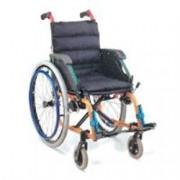 sedia a rotelle / carrozzina pediatrica in alluminio