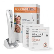 FOLIGAIN.L12x PROFESSIONAL LASER COMB. Limited Time Offer Receive FOLIGAIN.P5 6 Month Supply For Free!