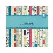 Shopaholic Paper Pack Craft papers- 16 Designs 32 Sheets
