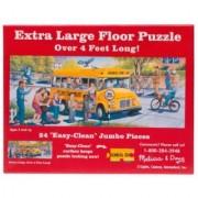 School Bus Floor Puzzle (24 PC)