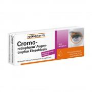 ratiopharm GmbH CROMO RATIOPHARM Augentropfen Einzeldosis 20X0.5 ml
