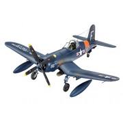 Revell 63955 - Model Juego de F4U 4 Corsair en escala 1: 72, Maqueta de, accesorios