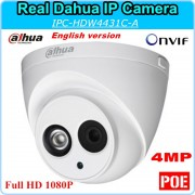 English Version Dahua IP Camera DH-IPC-HDW4431C-A HD1080P 4MP 2592x1520 Security CCTV Camera Support Onvif POE IPC-HDW4431C-A