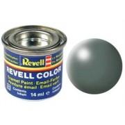 Revell 32360 RAL 6025 - Bote de pintura (14 ml), color verde grisáceo satinado mate