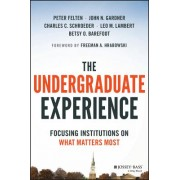 The Undergraduate Experience: Focusing on What Matters Most