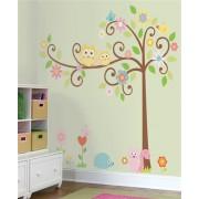 RoomMates Scroll Tree Wall Sticker