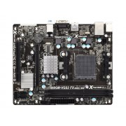 ASRock 960GM-VGS3 FX - Carte-mère - micro ATX - Socket AM3+ - AMD 760G - Gigabit LAN - carte graphique embarquée - audio HD (6 canaux)