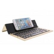 Foldable Bluetooth Keyboard voor smartphone en tablets - Goud
