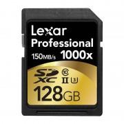 Card Lexar Professional 1000x SDXC 128GB Clasa 10 UHS-II 150MB/s
