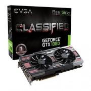 EVGA 08 G-P4–6386-kr EVGA GeForce GTX 1080 Classified Jeu ACX 3.0 8 Go GDDR5 X VR prêt carte graphique – Noir