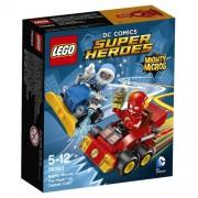 Lego - 76063 - Super Heroes - Dc Comics - Jeu de Construction - Mighty Micros : Flash contre Captain Cold
