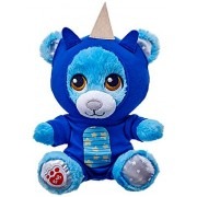 Build A Bear Blue Teddy Dragon Suit Stars Glow Buddies Mini 7 In. Stuffed Plush Toy Animal