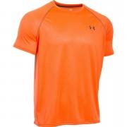 Under Armour Men's Tech Patterned Short Sleeve T-Shirt - Orange - L