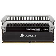 Corsair CMD8GX4M2A2666C15 Dominator Platinum Kit di Memoria da 8 GB, 2x4 GB DDR4, 2666 MHz, CL15 XMP 2.0 Enthusiast, Nero