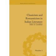 Classicism and Romanticism in Italian Literature: Leopardi's Discourse on Romantic Poetry