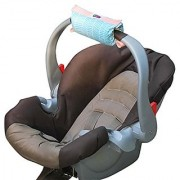 The Padalily Handle Cushion - Arm Cushion for Infant Car Seat (Sea Breeze)