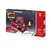 Bburago 18-31302 - Modellino Die Cast Collezione Ferrari Loop & Race Challenge
