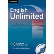 English Unlimited Advanced Self-study Pack (workbook with DVD-ROM) by Ben Goldstein