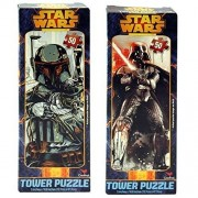 Special Edition Boba Fett & Darth Varder Star Wars Tower Jigsaw Puzzle 2 Asstd (50 PC)! by UPD