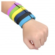 ER Fitbit FLEX brida de sustitución inteligente brazalete negro-Negro.