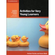 Activities for Very Young Learners Book with Online Resources by Herbert Puchta