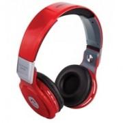 Auriculares Reproductor MP3 Woo PS400B / Bluethoot / Microfono / Fm / Micro Sd / Llamadas Remotas / Rojo