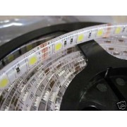 5m 300 SMD5050 LED STRIP STRISCIA LUCE CALDA 60w 5050 IP65
