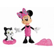 Fisher price - y1889 - bath toy - minnie and Figaro in the bath
