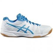 asics Indoorschuh GEL-UPCOURT - white/blue jewel/white | 40,5