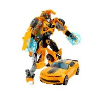 New Akira 2 in 1 Cars Toys Cool Classic Toys Anime action figures for kids (Yellow)
