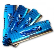 Memorie G.Skill RipJawsZ 16GB (4x4GB) DDR3 PC3-14900 CL8 1.5V 1866MHz Dual/Quad Channel Kit, F3-14900CL8Q-16GBZM