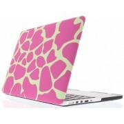Roze giraffen design hardshell voor de MacBook Air 11.6 inch