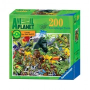Ravensburger Animal Planet: Jungle Friends - 200 Pieces Discover And Learn Puzzle