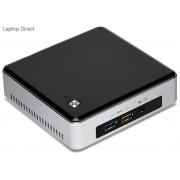 "Intel BOXNUC5-i5RYH NUC Black & Silver i5-5250U Miniature PC with Free Dos & 2.5"" HDD mounting support"