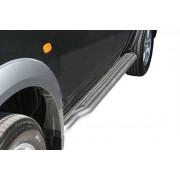 Marche pieds INOX Ø50 MITSUBISHI L200 2006- DBLE CAB - accessoires 4X4 MISUTONIDA