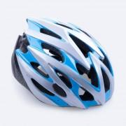 spokey cyklistická přilba spokey sky modro-bílá 55-58 cm