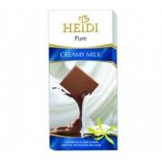 Heidi Pure Ciocolata Lapte si Vanilie 80g