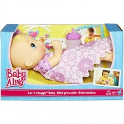 Baby Alive Luv n Snuggle Baby Doll blond with blanket by Baby Alive
