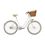 """Creme Molly Chic - Vélo de ville Femme - 26"""" 3-speed blanc 44 cm (26"""") Vélos de ville"""