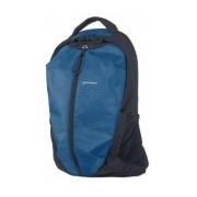 Manhattan Mochila Airpack de Nílon/Poliester para Laptop 15.6'' Negro/Azul