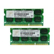 G.Skill SQ Series - DDR3 - 16 Go : 2 x 8 Go - SO DIMM 204 broches - 1600 MHz / PC3-12800 - CL10 - 1.5 V - mémoire sans tampon - non ECC