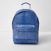 Mi-Pac River Island Girls Blue Mi-Pac iridescent mermaid backpack