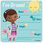 Doc McStuffins I've Grown Stickers - Patient Giveaways - 75 per Pack