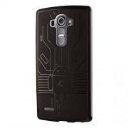CruzerLite Bugdroid Circuit Case for LG G4 Retail Packaging Smoke