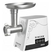 Masina de tocat SINGER SMG-2000, 2000W (Alb)