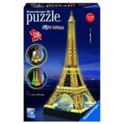 Puzzle 3D Ravensburger Eiffel Tower Building With Light 216 Pieces