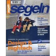 Segeln, Nr.1, Januar 2004, Boots*-Tests. Für Den Familientörn: C55, Lagoon 410. Test Und Technik: Sparsam Und Effectiv: Led-Lampen An Bord. Premiere: Die Ungewöhnliche Yacht, Design Und ...