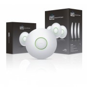 UNIFI LONG RANGE - 3 PACK - WIFI ACCESS POINT INDOOR POE MIMO 2.4GHZ 802.11N 300MBS - UBIQUITI UAP-LR-3