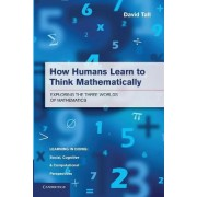 How Humans Learn to Think Mathematically by David Tall