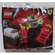 : LEGO Ferrari Shell Promo 30196 Ferrari pit crew Lego Ferrari (japan import)